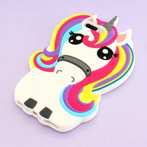 Colorful Unicorn Protective Case for iPhone 7 / 8 Plus
