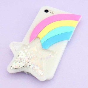 Shooting Glitter Star Protective Case for iPhone 8 / SE
