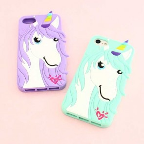 Pastel Unicorn Protective Case for iPhone 8 / SE