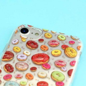 Colorful Donut Protective Case for iPhone 8 / SE