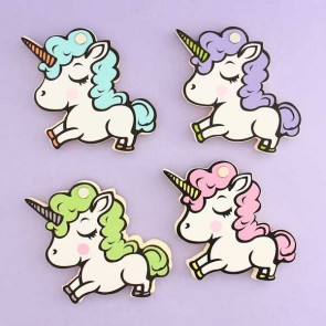 Happy Unicorn Twist Notepad