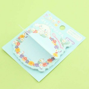 Cinnamoroll & Flowers Notepad