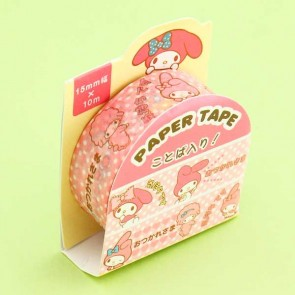 My Melody Pink Washi Tape