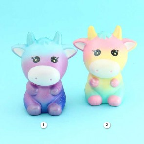 Areedy Colorful Cow Squishy