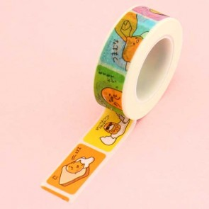 Gudetama Feelings Washi Tape