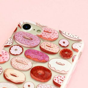 Glitter Donut Protective Case for iPhone 7 / 8