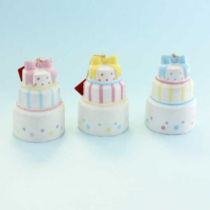 Cafe de N Three Layers Mini Cake Squishy Charm