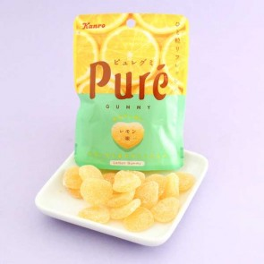 Kanro Puré Juicy Lemon Gummy
