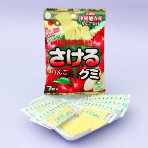 UHA Sakeru Split Gummy Candy - Apple