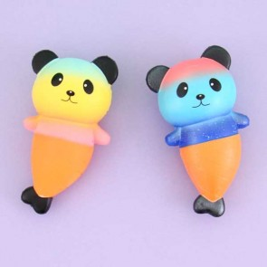 Ikuurani Mermaid Panda Squishy