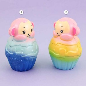 Ikuurani Fantasy Monkey in Cupcake Squishy