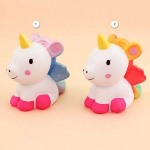 Kiibru Sitting Fantasy Unicorn Squishy