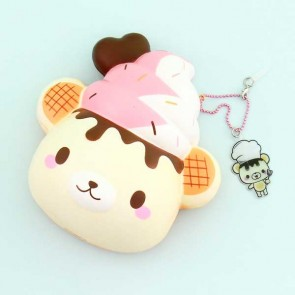Creamiicandy Super Jumbo Yummiibear Head Bun Squishy