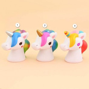 Jumbo Fantasy Unicorn Head Squishy