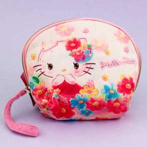 Hello Kitty Retro Fabric Pouch