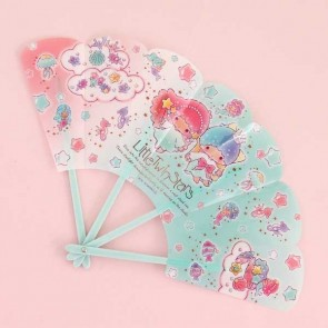 Little Twin Stars Folding Fan