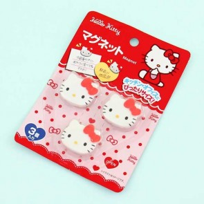 Hello Kitty Kawaii Magnets - 3 pcs