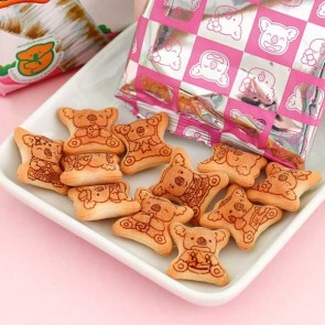 Lotte Koala's March Strawberry Cookies - Family Pack