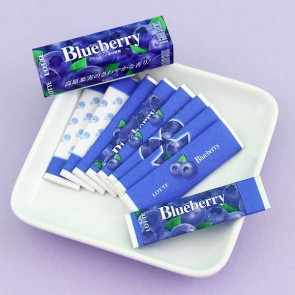 Lotte Blueberry Bubble Gum