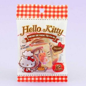 Hello Kitty Puffy Stickers - Baking