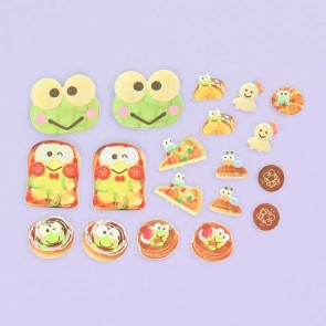 Keroppi Puffy Stickers - Food
