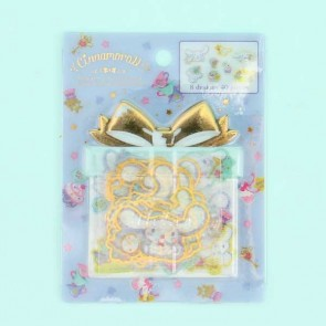 Cinnamoroll Golden Transparent Stickers