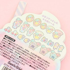 Little Twin Stars Summer Drink Transparent Stickers