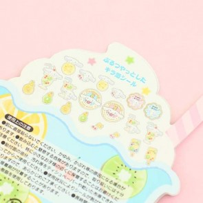 Cinnamoroll Summer Drink Transparent Stickers