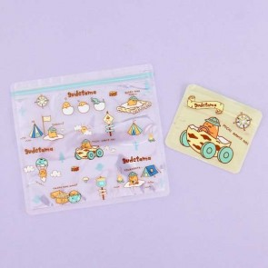 Gudetama Ziptop Bag Set - Safari