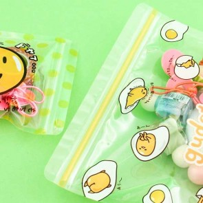 Gudetama Ziptop Bag Set - Lazy