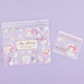 My Melody Ziptop Bag Set - Tea Party