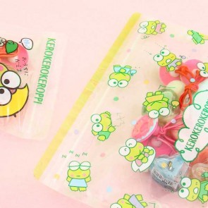 Keroppi Ziptop Bag Set - Rainy Day