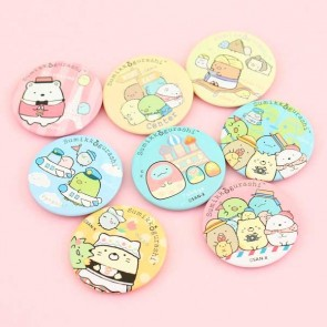 Sumikko Gurashi Traveling Around the World Badge