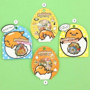 Gudetama Transparent Delicacies Sticker Set
