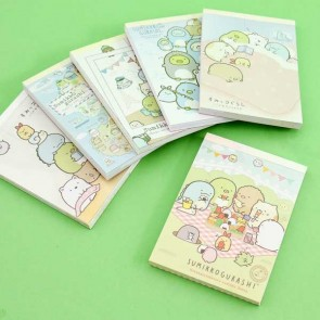 Sumikko Gurashi Traveling Around The World Notepad - Medium