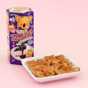 Lotte Koala's March Blueberry Cheesecake Biscuits
