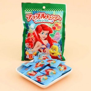 Furuta Disney The Little Mermaid Apple Candy