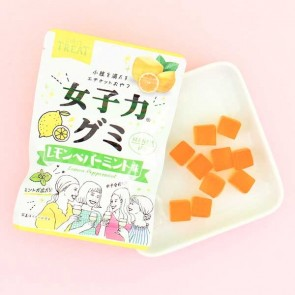 Heart Girls Treat Lemon Peppermint Gummy Candies