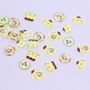 Pompompurin Drop Peko Sticker Set