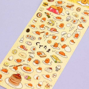 Gudetama On An Adventure Stickers