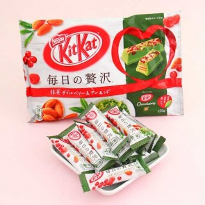 Kit Kat Matcha Double Berry & Almond Chocolate