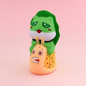 Kawaii Frog And Snail Squishy