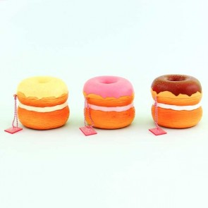 Cafe De N Double Stacked Donut Squishy Charm