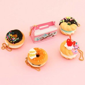 J Dream Mini Donuts Squishy Charm Gachapon