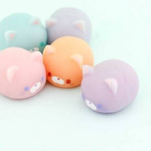J Dream Puni Neko Squeeze Toy in Gachapon Capsule