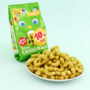 Tohato Caramel Corn Big Package - Matcha Green Tea