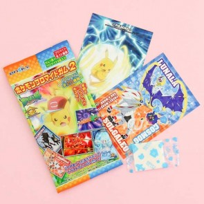 Ensky Pokémon Sun & Moon Cards with Gum