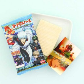 Gintama Anime Wafer & Collectible Card Set