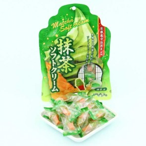 Senjaku Matcha Green Tea Soft Ice Cream Candies