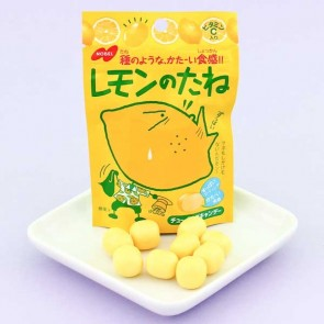 Nobel No Tane Sour Candies - Lemon